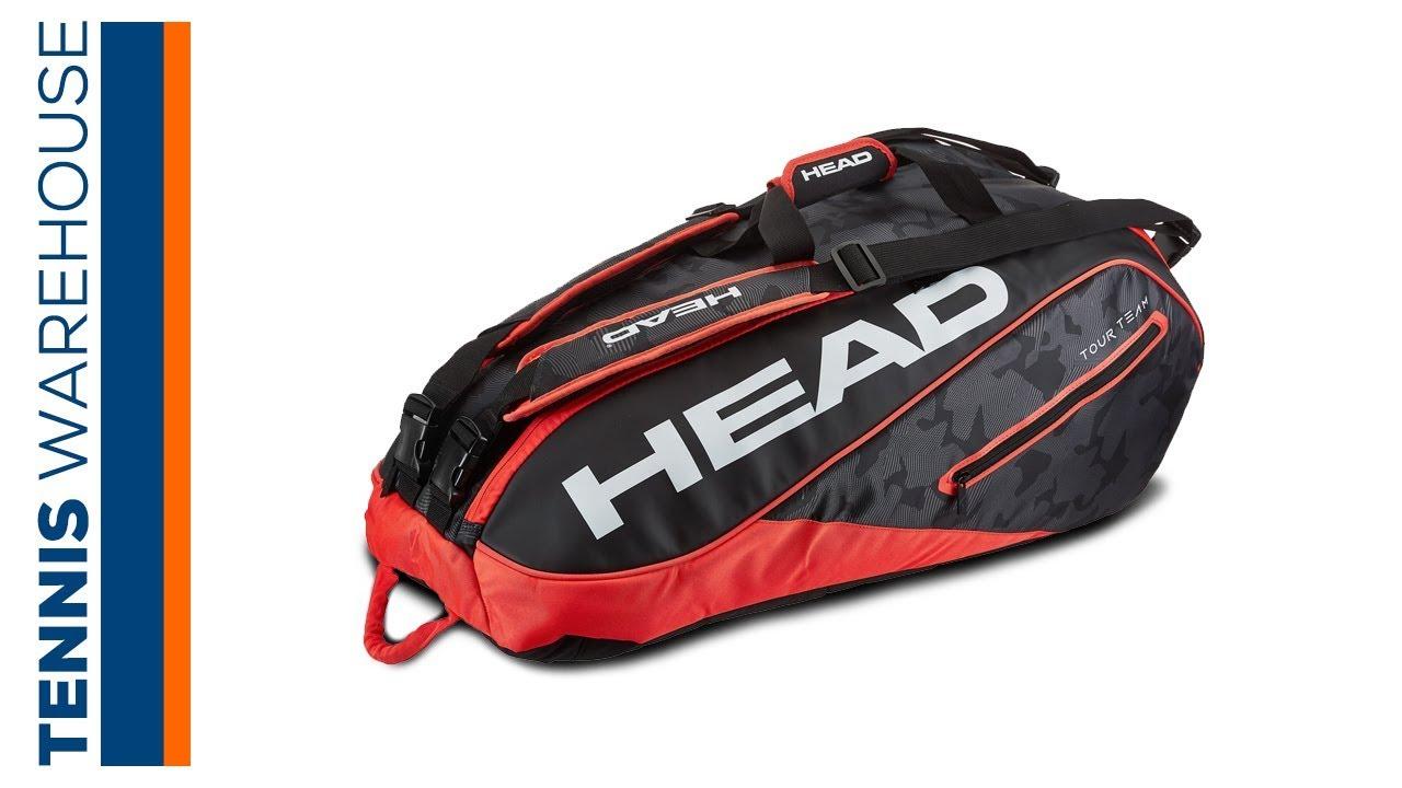 c4db2017c8 Head Tour Team 9 Pack Tennis Bag - YouTube