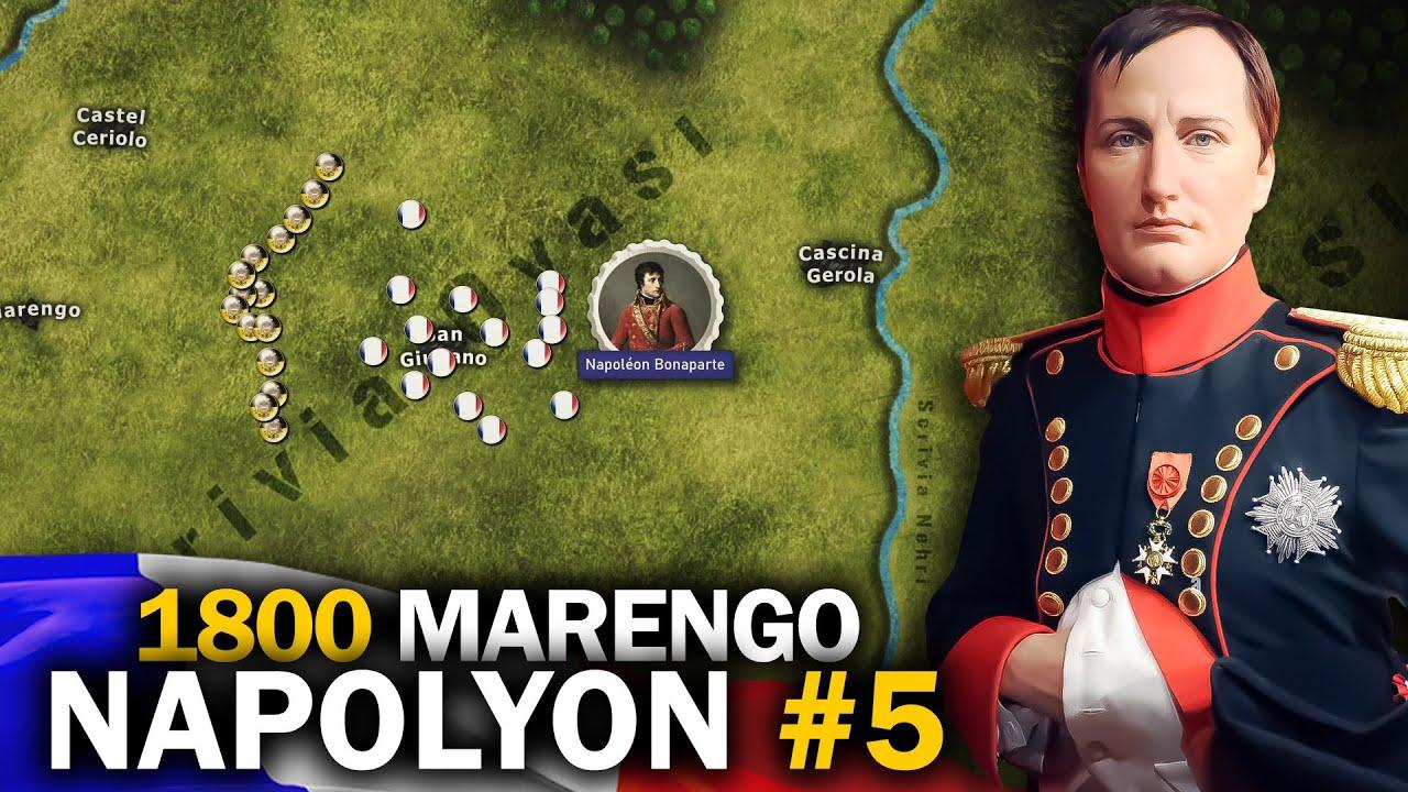 NAPOLYON'UN İKTİDARA GELİŞİ || 1800 Marengo Muharebesi || Napolyon Bonapart #5