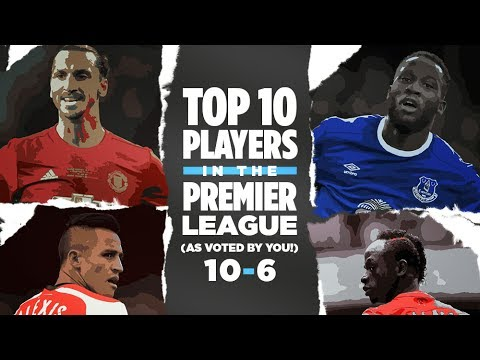 Top 10 Players In The Premier League: 10-6 (Part 1) As Voted by Take a Bow Viewers