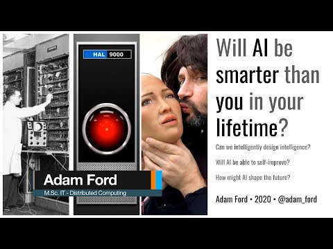 Artificial Intelligence will be Smarter than You in Your Lifetime