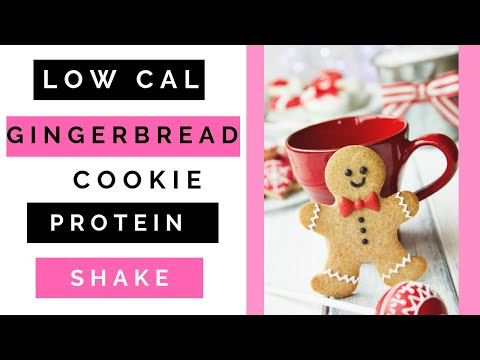 Low Calorie Gingerbread Cookie Protein Shake/Lady Boss Lean