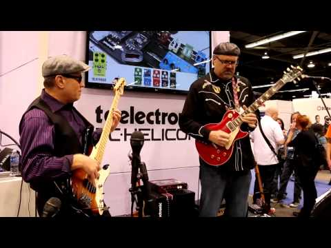 NAMM 2015 - TC ELECTRONIC - Greg Koch + Roscoe Beck (Song1)