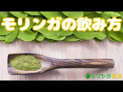 モリンガの基本的な飲み方【簡単5種類】