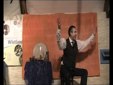 David Heathfield (Storyteller) tells The Witch of Tavistock,
