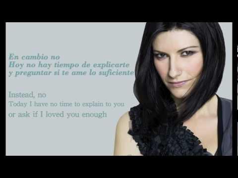 Laura Pausini - En Cambio No (with Spanish & English Lyrics) HD