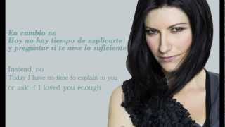 Laura Pausini - En Cambio No (with Spanish & English Lyrics) HD