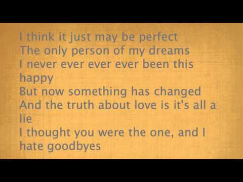 Pink - The truth about love - karaoke (with chorus)