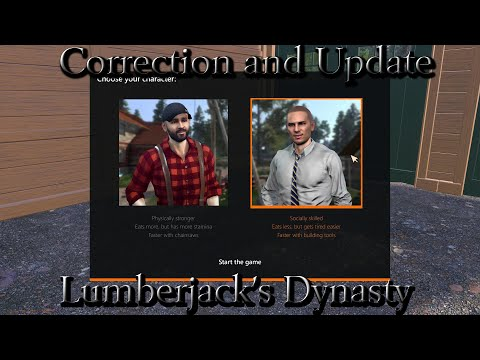 Correction and Update - Lumberjacks Dynasty |