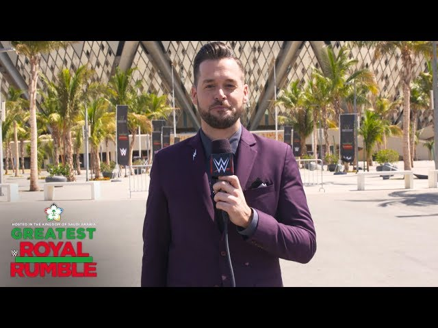 John Cena vs. Triple H start off the Greatest Royal Rumble event: WWE Exclusive, April 27, 2018