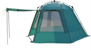 Быстросборный тент шатер Greenell Грейндж(Быстросборный тент шатер Greenell Грейндж - это тент-беседка с полуавтоматическим каркасом, телескопическими..., 2015-07-14T12:59:24.000Z)