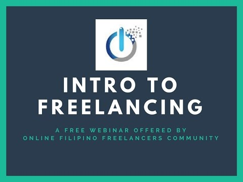 OFF Community  Intro to Freelancing Webinar