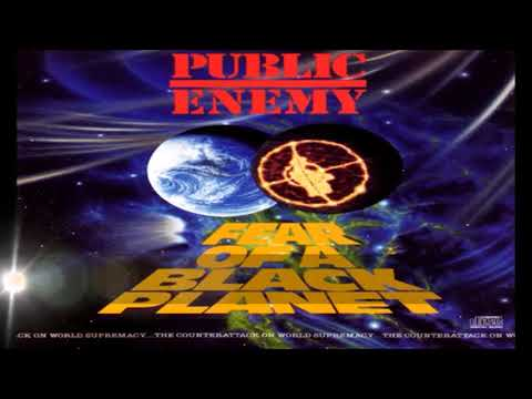 Samples used in Public Enemy's Fear of a Black Planet