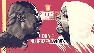 DNA VS NU JERZEY TWORK  RAP BATTLE | URLTV