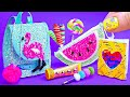 6 Barbie hacks and crafts ~ Awesome Backpack, Sequin Notebook, and more!