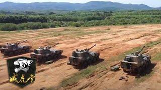实拍74军多型火炮山地猛烈射击 155炮车内画面罕见曝光 | 威虎堂
