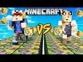 SZALONY WYŚCIG! - HEKTOR LUCKY BLOCKI MINECRAFT! (Lucky Block Race) | Vito vs Bella