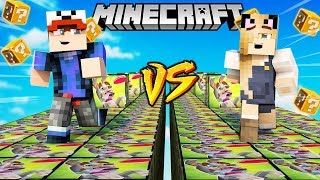 SZALONY WYŚCIG! - HEKTOR LUCKY BLOCKI MINECRAFT! (Lucky Block Race) | Vito vs Bella