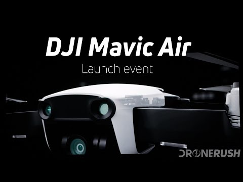 DJI Mavic Air Announced New Drone Specs Price And Availability Video