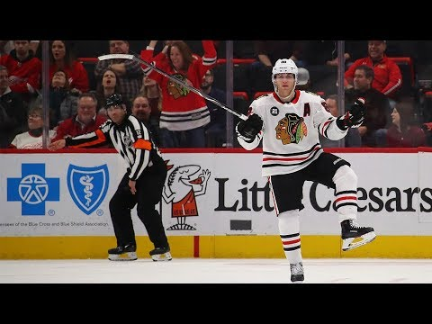 Patrick Kane rips home OT winner for Blackhawks