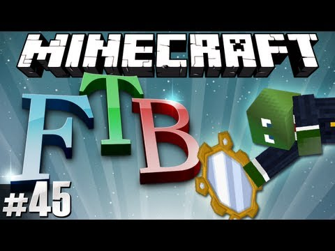 Minecraft Feed The Beast #45 - Mirror Magic!