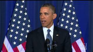 President Obama Addresses Use of Drones