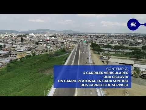 Inauguran el puente entre Guayaquil y Samborondón