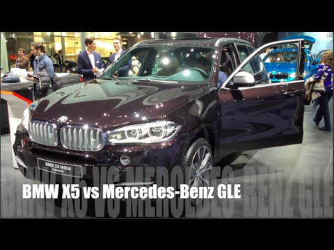 bmw x5 2015 vs mercedes benz gle 2015 youtube. Black Bedroom Furniture Sets. Home Design Ideas