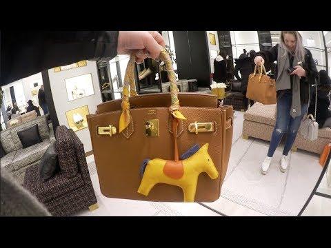 Hermes Birkins & Chanel Cruise 18 🎉 Chanel Luxury Shopping Vlog