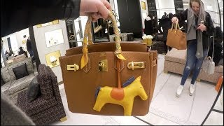 Hermes Birkins & Chanel Cruise 18 🎉 Chanel Luxury Shopping Vlog