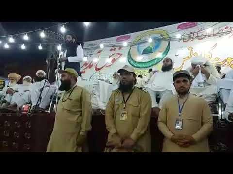 Maulana Hussain Ahmad Madani sb at 43rd Khatme Nabuwat conference peshawar