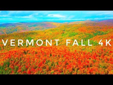 Hills on Fire 4K :: Vermont Fall