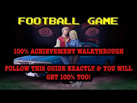 GBHBL Guides: Football Game - Walkthrough and All Achievements!
