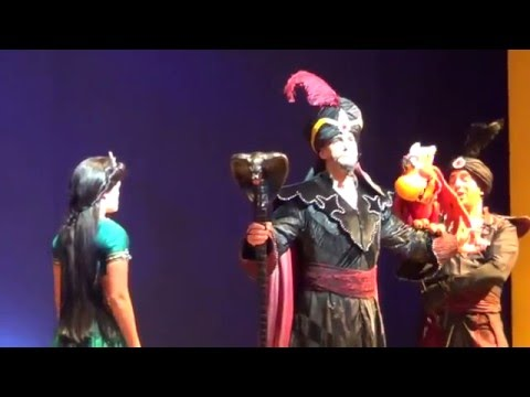 Video #12 of Aladdin A Musical Spectacular at Disney California Adventure (Recorded on 10/19/2013)