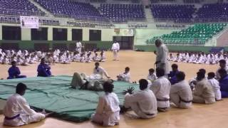 Judo demo...Japan-India Sports Festival