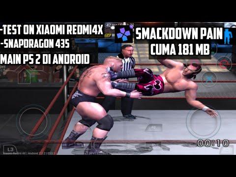 Cara Download Dan Instal Smackdown Pain PS 2 Di Android [ Damon PS 2 Pro Emulator]