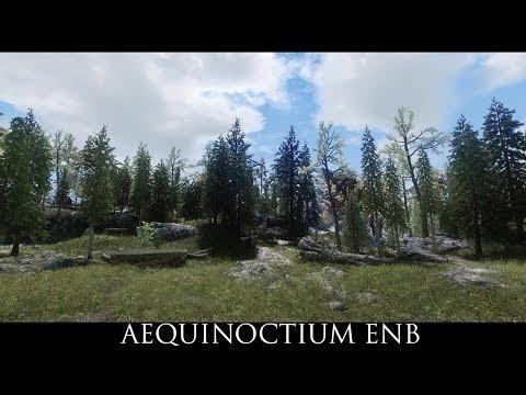 Skyrim SE Mods: Aequinoctium ENB