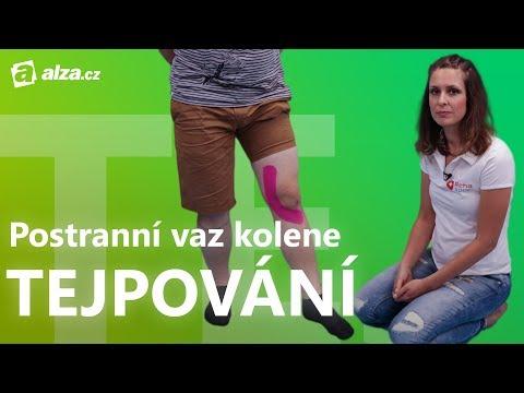 Tejpování kolenního vazu | Kinesiotaping | Alza.cz