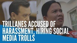 Trillanes accused of harassment, hiring social media trolls