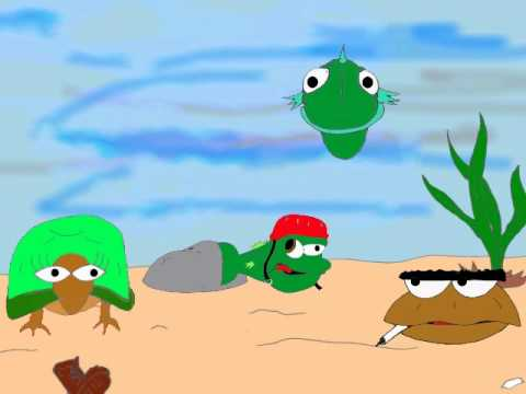 Gary The Retarded Fish Episode 1