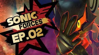Sonic Forces PS4 Pro 4K Gameplay Walkthrough Playthrough Let's Play (Full Game) - Part 2 Hard Mode