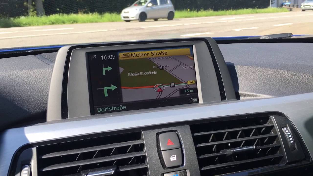 bmw nachr stung integrated navigation youtube