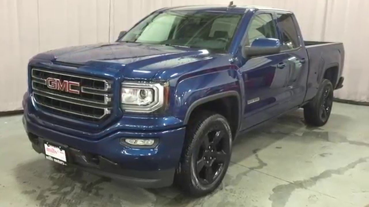 2016 GMC Sierra 1500 Double Cab 4WD Elevation Edition ...