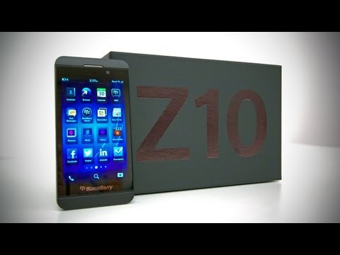 BlackBerry Z10 Unboxing & Overview