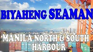Manila BAY. Biyaheng Seaman. Manila north and south harbour. Pinoy seaman vlogger