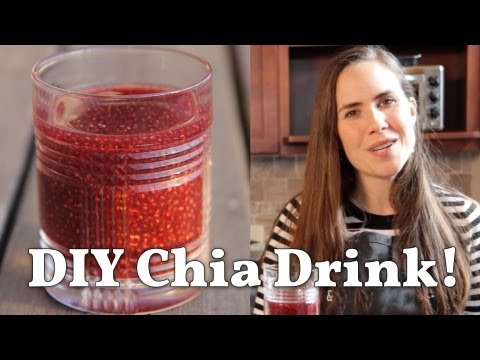 How to Make Your Own Chia Seed Drink