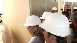 Supervisa Gobernadora nuevo Hospital General en Nogales del IMSS