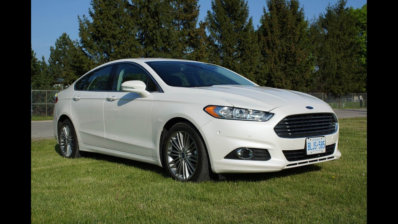 2013 Ford Fusion Titanium 2.0 AWD Review - YouTube