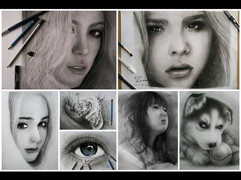 Học Vẽ cơ bản-Vẽ chân dung bằng bút chì với họa sĩ nghiệp dư