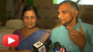 Dr. Prakash Baba Amte & Wife Manda - Exclusive Interview - Marathi Movie Dr. Prakash Baba Amte