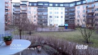 Edvin adolphsons väg 8 - 2:a · 57m2 - Råsunda / Gamla Filmstaden : Via Notar mäklare Solna